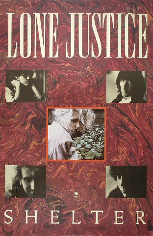 "Lone Justice Poster  : 23"" x 35"""