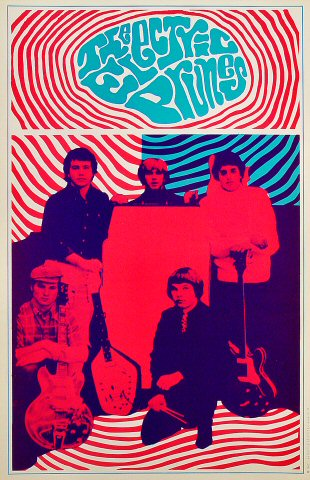 "The Electric Prunes Poster from Saladin Headshop : 13"" x 20"""