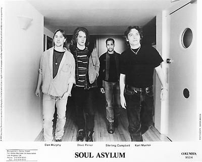 Soul Asylum Promo Print  : 8x10 RC Print