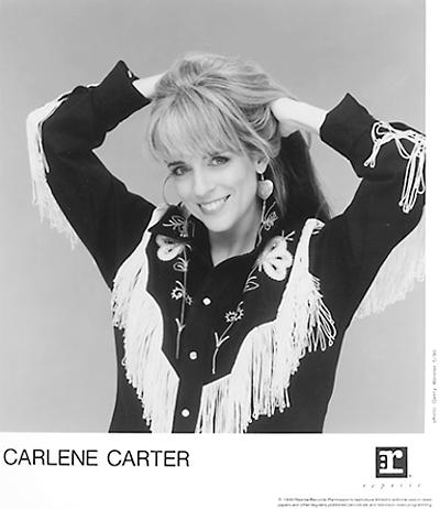 Carlene Carter Promo Print  : 8x10 RC Print