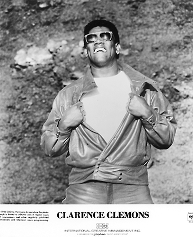 Clarence Clemons Promo Print  : 8x10 RC Print