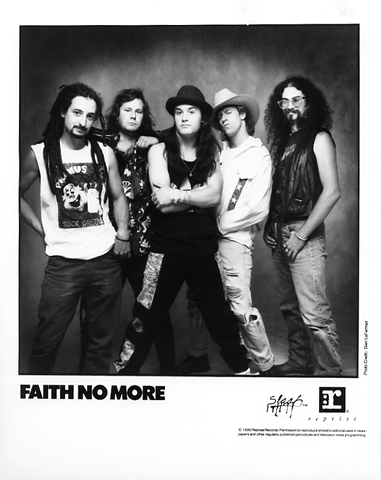 Faith No More Promo Print  : 8x10 RC Print