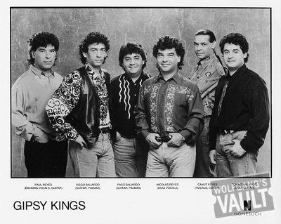 Gipsy Kings Promo Print  : 8x10 RC Print