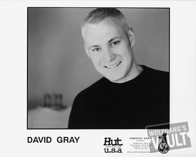 David Gray Promo Print  : 8x10 RC Print