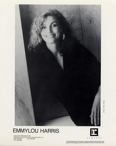 Emmylou Harris Promo Print  : 8x10 RC Print