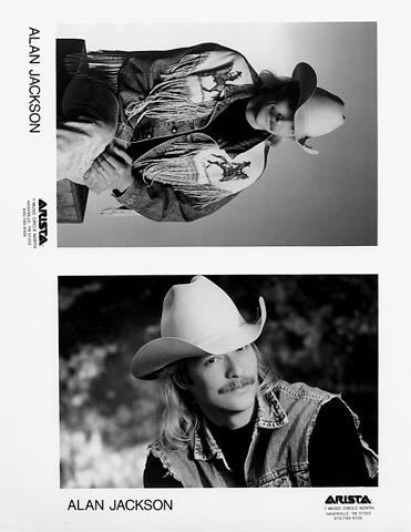 Alan Jackson Promo Print  : 8x10 RC Print
