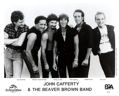 John Cafferty and the Beaver Brown Band Promo Print  : 8x10 RC Print