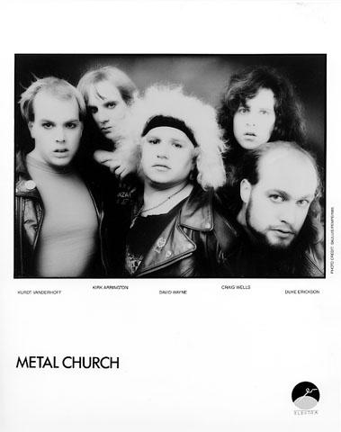 Metal Church Promo Print  : 8x10 RC Print