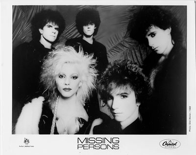Missing Persons Promo Print  : 8x10 RC Print