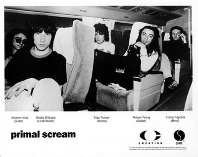 Primal Scream Promo Print  : 8x10 RC Print