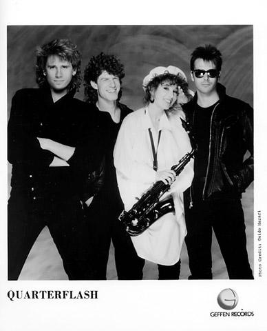 Quarterflash Promo Print  : 8x10 RC Print