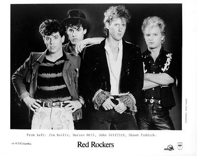 Red Rockers Promo Print  : 8x10 RC Print