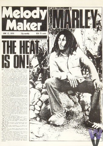 Bob Marley Magazine  on 12 Jun 76: Magazine