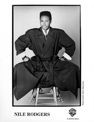Nile Rodgers Promo Print  : 8x10 RC Print