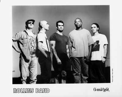 Rollins Band Promo Print  : 8x10 RC Print