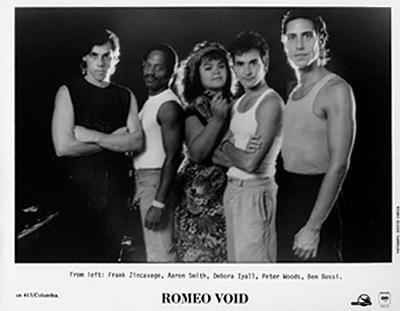 Romeo Void Promo Print  : 8x10 RC Print