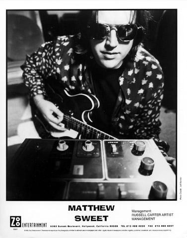 Matthew Sweet Promo Print  : 8x10 RC Print