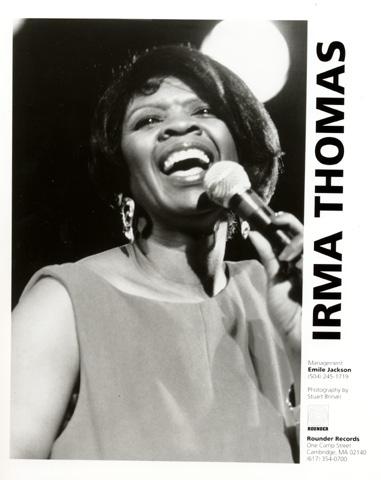 Irma Thomas Promo Print  : 8x10 RC Print