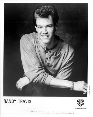 Randy Travis Promo Print  : 8x10 RC Print