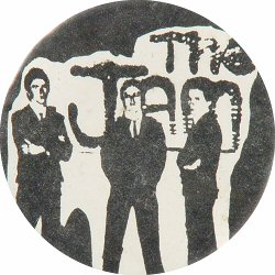 "The Jam Vintage Pin  : 2 1/4"" x 2 1/4"" Pin"