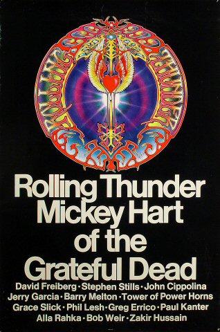 "Mickey Hart Poster  : 23 7/8"" x 36 1/4"""