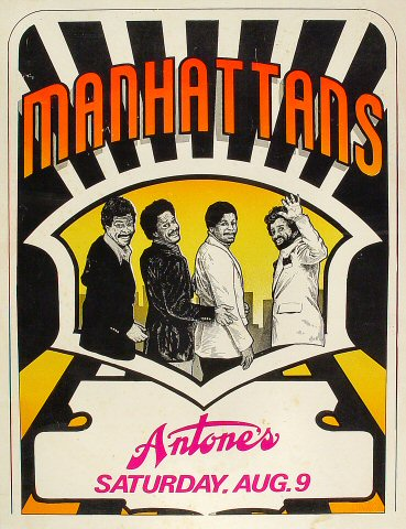 "The Manhattans Poster  : 17"" x 22 1/8"""