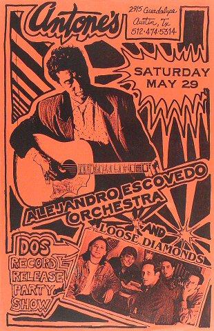 "Alejandro Escovedo Poster from Antone's : 11"" x 17"""