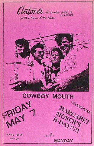"""Cowboy Mouth Poster  : 11"""" x 17"""""""