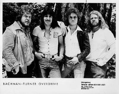 Bachman-Turner Overdrive Promo Print  : 8x10 RC Print