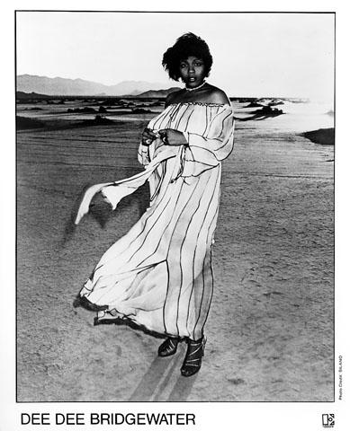 Dee Dee Bridgewater Promo Print  : 8x10 RC Print