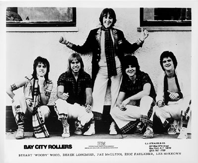 Bay City Rollers Promo Print  : 8x10 RC Print