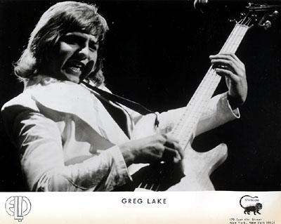 Greg Lake Promo Print  : 8x10 RC Print