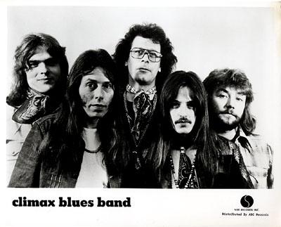 Climax Blues Band Promo Print  : 8x10 RC Print
