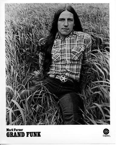 Mark Farner Promo Print  : 8x10 RC Print