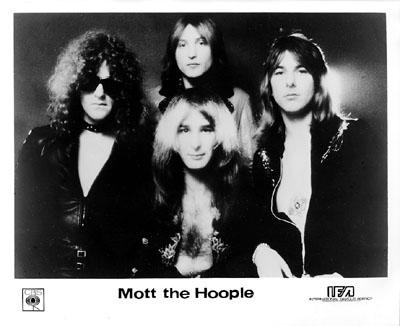 Mott the Hoople Promo Print  : 8x10 RC Print