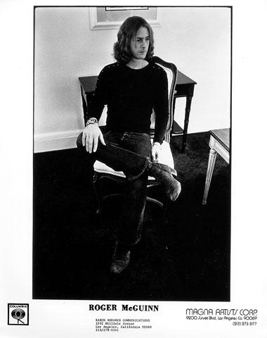 Roger McGuinn Promo Print  : 8x10 RC Print