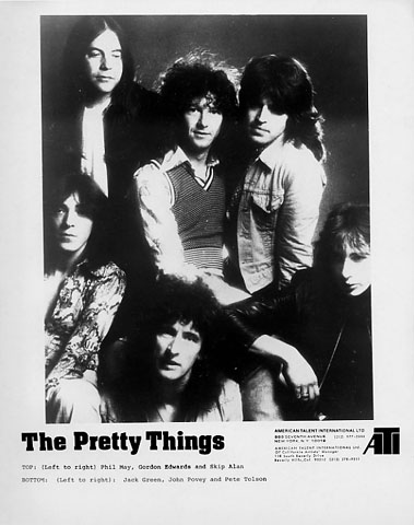 Pretty Things Promo Print  : 8x10 RC Print