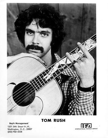 Tom Rush Promo Print  : 8x10 RC Print