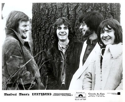 Manfred Mann's Earth Band Promo Print  : 8x10 RC Print