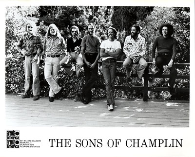 The Sons of Champlin Promo Print  : 8x10 RC Print