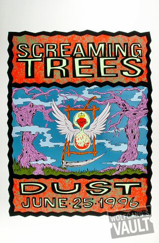 "Screaming Trees Poster  : 23"" x 35"""