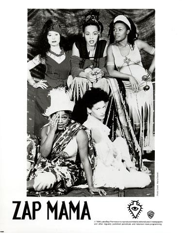 Zap Mama Promo Print  : 8x10 RC Print