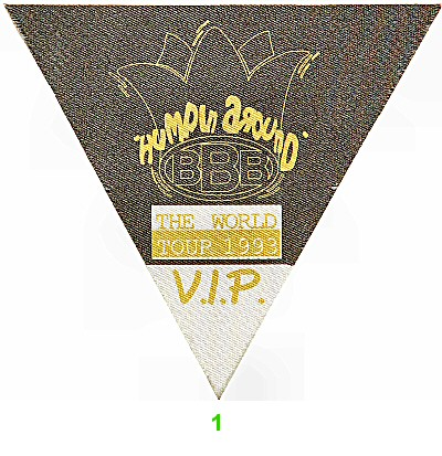 Bobby Brown Backstage Pass  : Pass 1