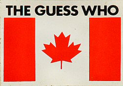 The Guess Who Sticker  : Promo Sticker