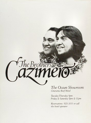 "The Brothers Cazimero Poster from Ocean Showroom : 17"" x 23"""