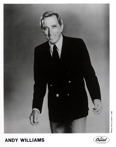 Andy Williams Promo Print  : 8x10 RC Print