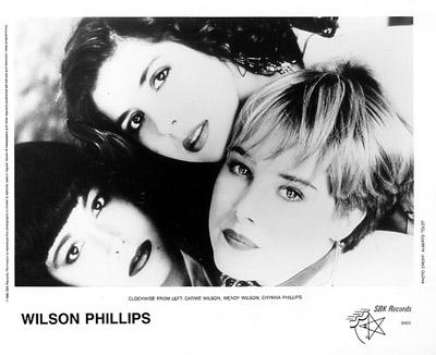 Wilson Phillips Promo Print  : 8x10 RC Print