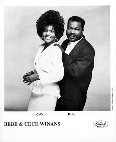 Bebe and Cece Winans Promo Print  : 8x10 RC Print
