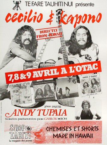 """Cecilio and Kapono Poster from Grand Theatre de L'otac : 16 5/8"""" x 22 3/8"""""""