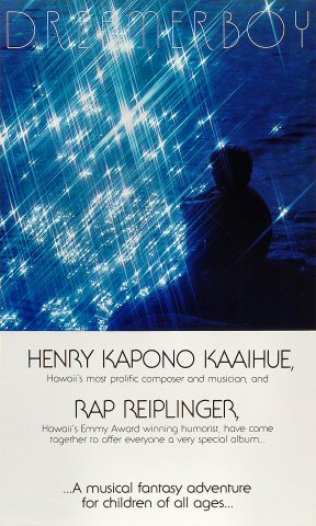 "Henry Kapono Poster  : 12"" x 20"""